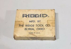 Ridgid Rigid 65 r Dies 1 2 Inch Right Hand Only High Speed Steel With Box