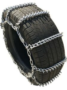 Snow Chains P245 70r15 Alloy Cam Stud Tire Chains W Spring Tensioners