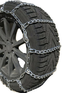 Snow Chains P245 65r15 P245 65 15 Cam Tire Chains W Spring Tensioners