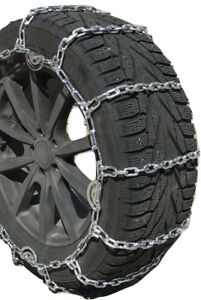 Snow Chains P245 65r15 P245 65 15 Square Tire Chains W Spring Tensioners