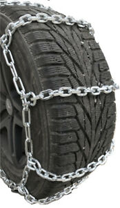 Snow Chains P245 65r15 P245 65 15 7mm Square Tire Chains W spring Tensioners