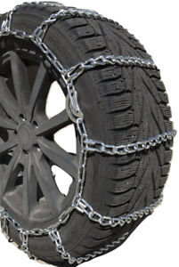 Snow Chains P225 75r16 P225 75 16 Cam Tire Chains W Rubber Tensioners