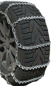 Snow Chains 225 65r18 225 65 18 V Bar Cam Tire Chains W Rubber Tensioners