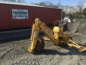 2005 John Deere Pro 911 Extender Backhoe Attachment For Skid Steer Loaders