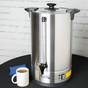 Large Electric Commercial Catering Coffee Maker Machine Urn Brewer Warmer Pot