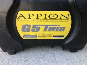 Appion G 5 Twin Refrigerant Recovery Machine Free Ship To Continental Usa