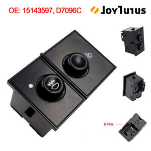 Driver Side Master Window Switch For Chevrolet Colorado Gmc Canyon Hummer H3 H3t