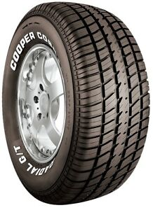 2 New Cooper Cobra Radial G t 107t 50k mile Tires 2756015 275 60 15 27560r15