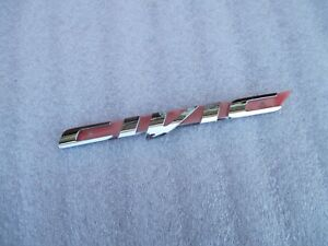 Honda Civic Emblem 2012 2013 2014 2015 Genuine Honda Oem Nameplate Civic