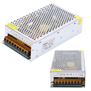 10x Dc 12v 25a Switching Regulated Power Supply For 3528 5050 Led Strip Light