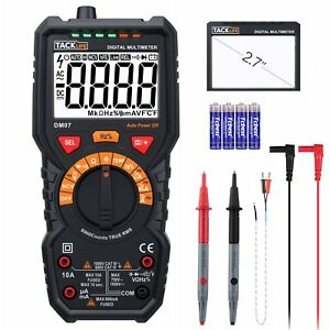 Multimeter Tacklife Dm07 6000 Counts Auto ranging Electrical Tester Ac dc