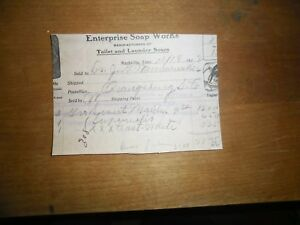 1911 Pharmaceutical Nashville Tennessee Soap Works Toilet Laundry