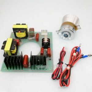 110vac 60w 40khz Ultrasonic Cleaning Transducer Cleaner Driver Board Us Ship