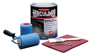 Herculiner Gray Brush On Diy Bed Liner Kit Prevents Rust Tough Skid Resistant