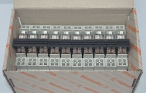 Lot Of 10 New Weidmuller Power Relay Prz Dpdt 10a 24vdc Coil Din Rail