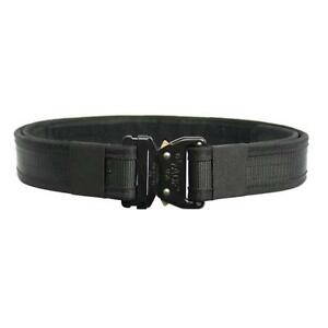 Fusion Tactical Military Police Patrol Belt Blk S 28 33 2 Wide binding new