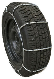 Snow Chains P225 60r15 Cable Tire Chains W Duffle And Rubber Tensioners