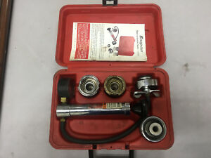 Snap on Tools Cooling System Pressure Tester Set Svts262a