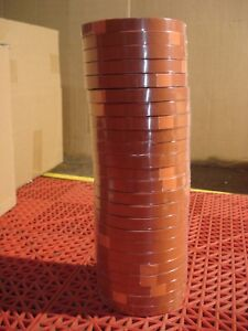 Tesa 4287 Strapping Tape 1 2 Orange Tensilized High Performance 24 Rolls New