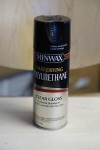 Minwax Fast Drying Spray Polyurethane Int Clear Gloss 11 5 Oz Case 6