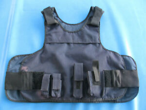 Paca Military Police Tactical Armor Plate Carrier Vest Pouches 64l2 Extra Large
