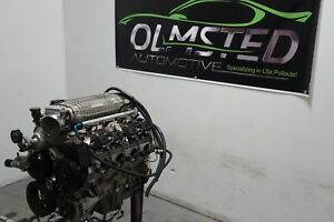 427 Ci Ls9 Stroker Motor Supercharged Compstar Manley 24x H beam Complete Engine