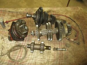 Ih Farmall H Sh M w Complete Working 9 Speed Transmission Nice Antique Tractor