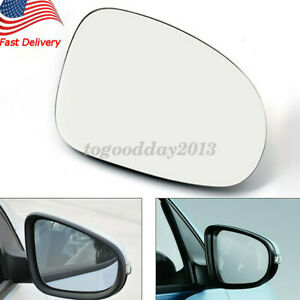 Us Right Replacement Side Mirror Glass Vw Eos Gti Jetta Passat R32 Mk5 2005 2010