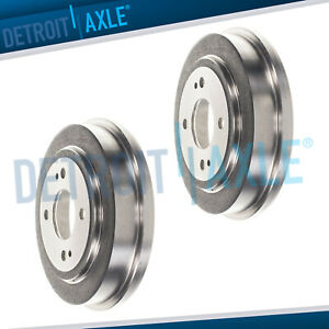 Rear Disc Brake Drums For 1992 1997 1998 1999 2000 El Civic 1986 1989 Accord