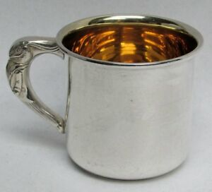 Delightful Vintage Peter Rabbit Saart Sterling Silver Child Youth Baby Cup