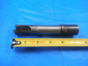 Modified Sandvik 1 Diameter Indexable End Mill Tm390 Cnc Machine Shop