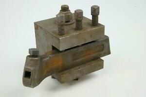 J h Williams Turning Tool Holder With Lathe Turret Block No 3 r