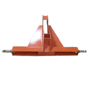 Category 1 Orange 3 Point 2 Receiver Hitch Drawbar Vans Caravans Trailers