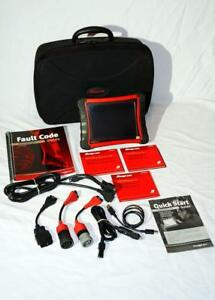 Snap On Eehd188001 Heavy Duty Scanner Complete Package Software Cables