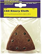 Eazypower Oscillating Emery Cloth Sanding Pad 3 1 8 In 40 Grit 12 Per Pack
