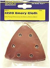 Eazypower Oscillating Emery Cloth Sanding Pad 3 5 8 In 220 Grit 12 Per Pack