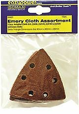 Eazypower Oscillating Emery Cloth Sanding Pad 3 1 8 In Assorted Grit 12 Per P