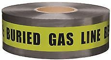 Detectable Marking Tape 3 In X 333 33 Yd Yellow Replaces Mt1000