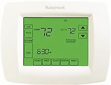 Honeywell Universal Programmable Thermostat 2 Heat 3 Cool Arctic White