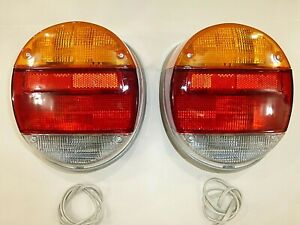 Tail Light Assembly Fits Volkswagen Type 1 Vw Bug Super Beetle 1973 1979 Pair