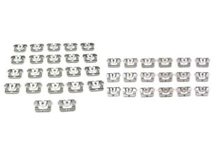 Front Windshield Rear Window Molding Clips Complete Set Chevelle 68 72 New