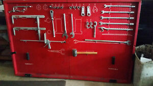 Vintage Snap On Alignment Tool Board With Snap On Tools 74 X 48