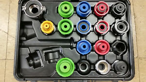 New Blue point snap on Cooling System Adapter Set With Snap on Svtab1400