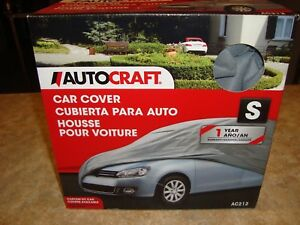 Brand New Autocraft Small S Car Cover Grey Ac212 Never Out Of The Box