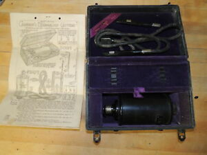 Cameron S Thermaloop Cautery Antique Vintage Medical Quackery Device