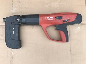 Hilti Dx460 Powder Actuated Tool W Mx72 Mag Nice Free Shipping To Usa
