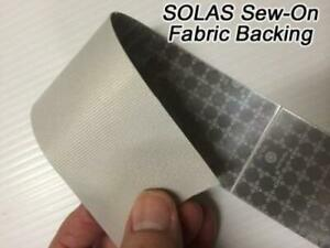 Oralite sew On M82 Solas Reflective Tape 30 And 150 Rolls