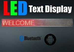 red Programmable Led Text Display