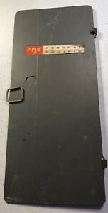 Fpe Federal Pacific Electric Breaker Panel Door Cover 200 Amp M112 24 200g