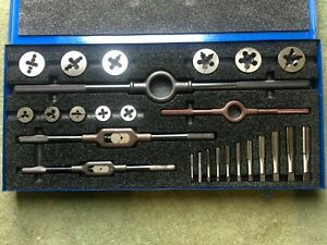 Greenfield Little Giant Standard Tap And Die Set 26 Pieces